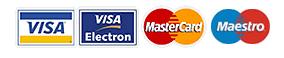 Visa Master Card Maestro